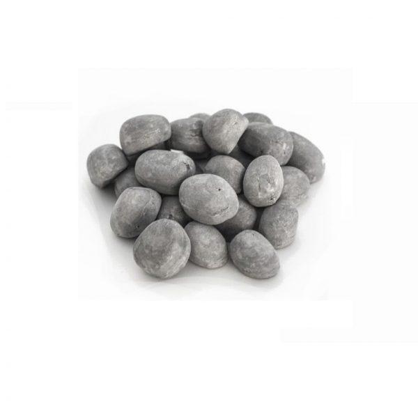 Keramiska stenar grå